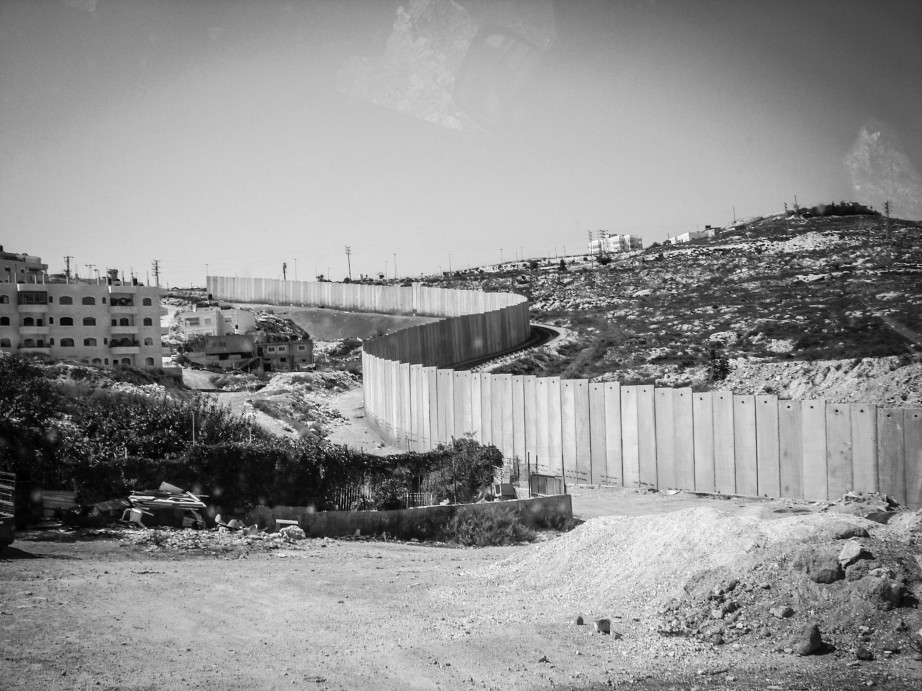 View of separation barrier