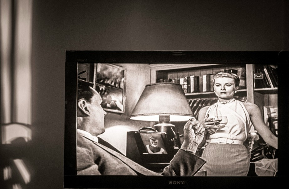 Scene from Hichtcock's 'Rear Window'
