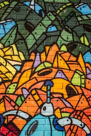 Street Art off Bedford Avenue