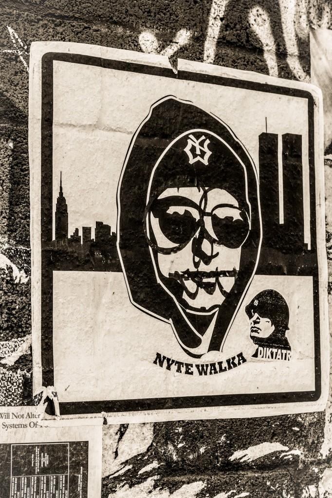 Street Art: Nyte Walka
