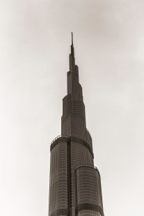The upper half of Burj Khalifa