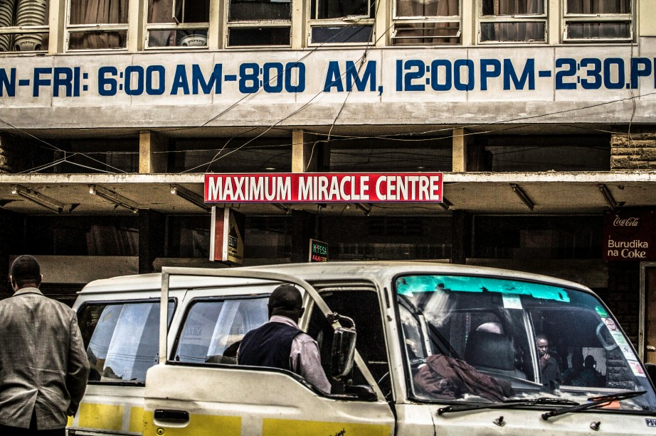 Photograph of Maximum Miracle Center in Downtown Nairobi