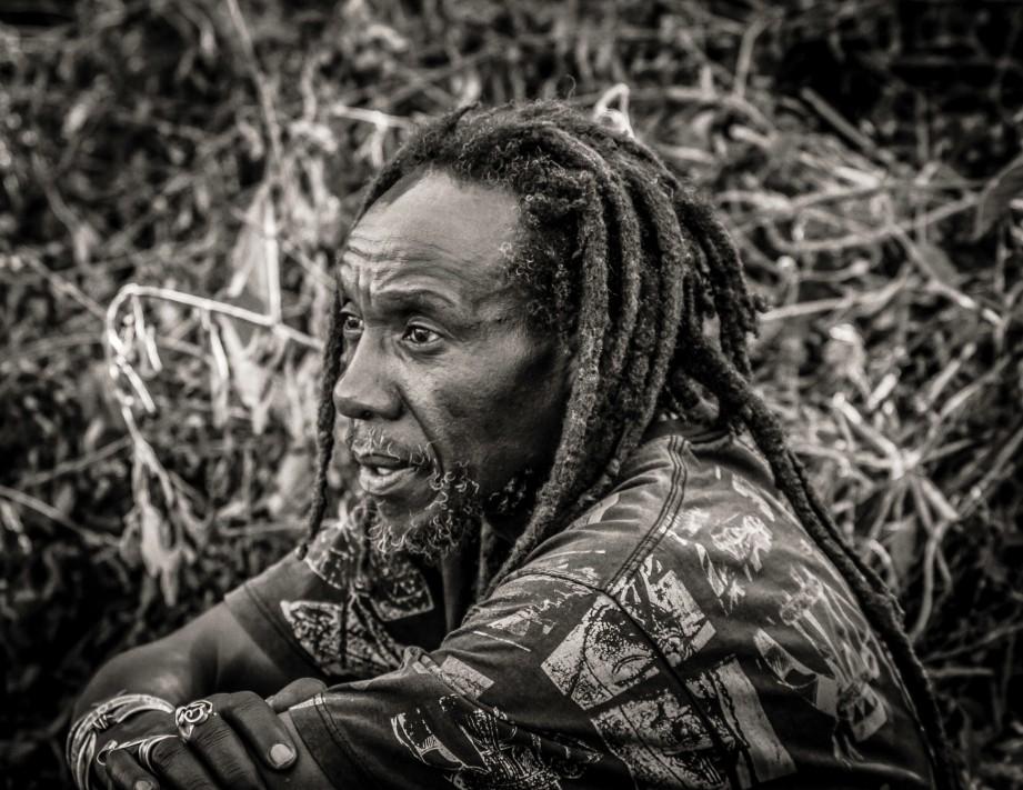 Portrait of Kenyan artists and organic farmer