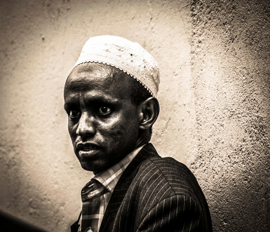 Photograph of a Muslim in Kenya