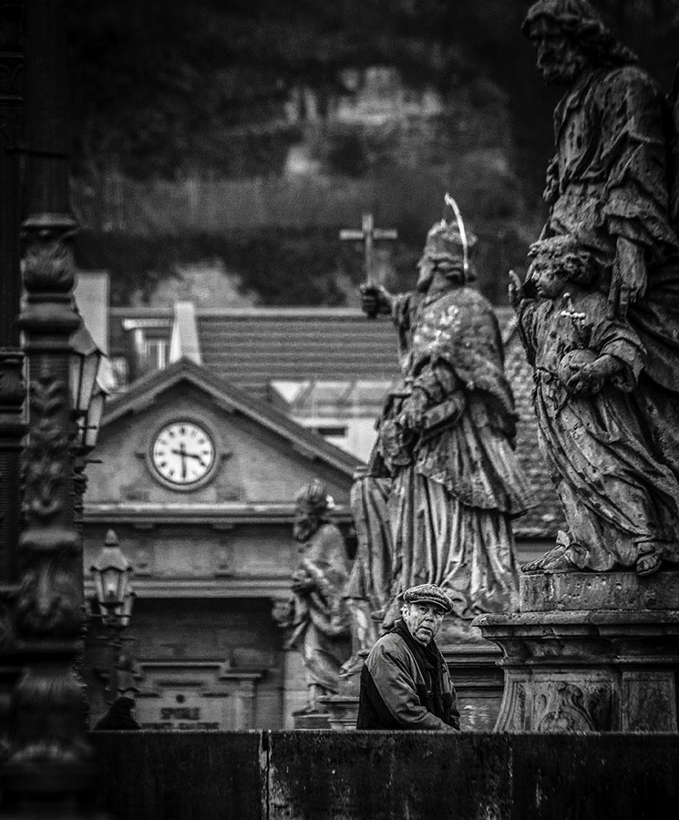 Street Shot - Monochrome - Wuerzburg / Germany