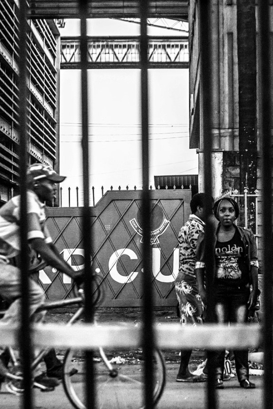 B&W series: behind bars - 'imprisoned' 3