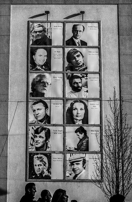 b&w image - Pristina - Kosovo